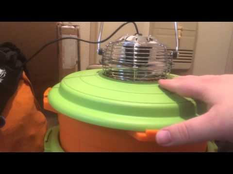 Wastebasket air conditioner