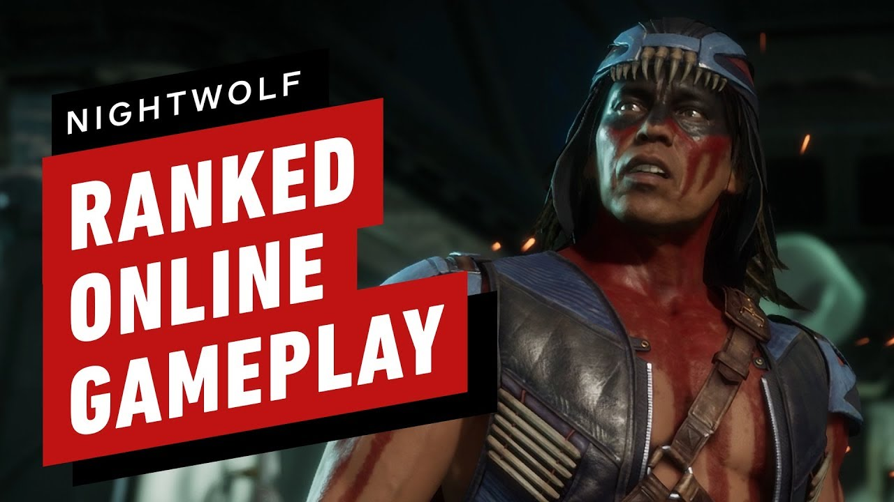 Mortal Kombat 11 - Nightwolf Ranked Online Gameplay