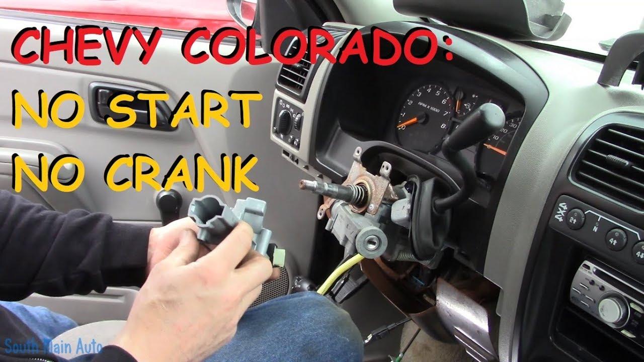 Chevy Colorado No Start No Crank Youtube