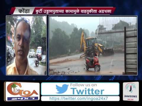 LOCALS FACE TRAFFIC CONGESTION DUE TO ONGOING WORKS OF CURTI FLYOVER