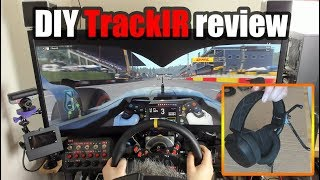 DIY TrackIR Build Review - Premium head-tracking for under £15?