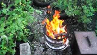 Копчение скумбрии в коптильне горячего копчения.