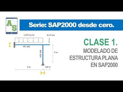Curso: SAP2000 desde cero   Clase 1