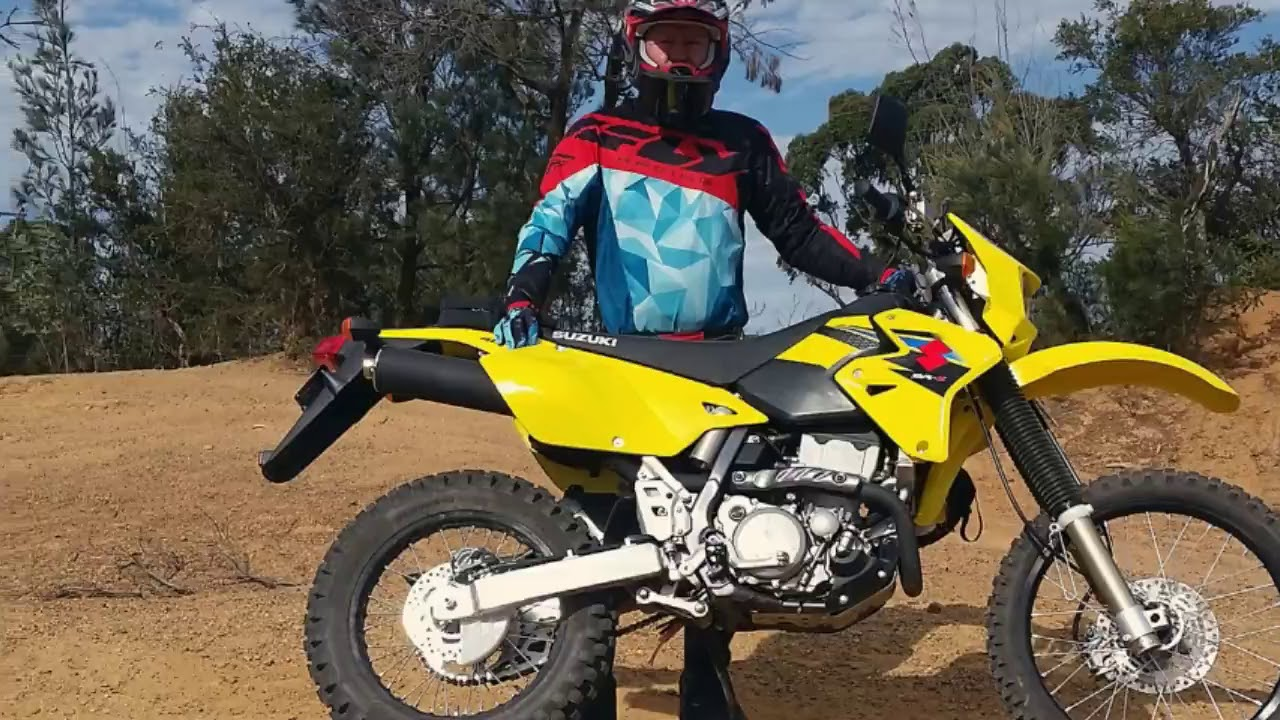 Inside the all new! 2018 suzuki drz400sm review - YouTube