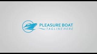 How to Make Pleasure Boat Logo in Corel Draw