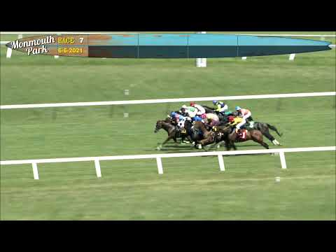 video thumbnail for MONMOUTH PARK 6-6-21 RACE 7