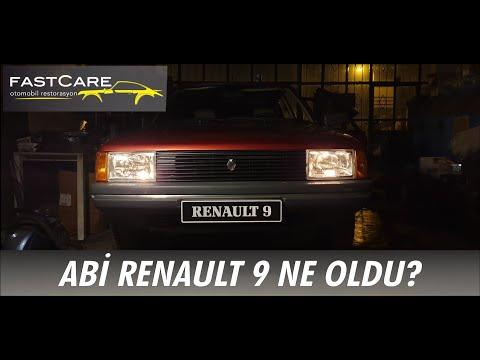 1987 RENAULT 9 Restorasyon Projesi: FİNAL