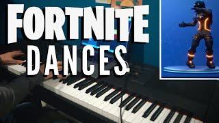 Fortnite Dances Piano Mashup
