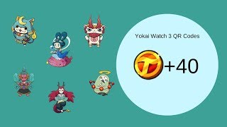 Yo Kai Watch 3 Qr Codes