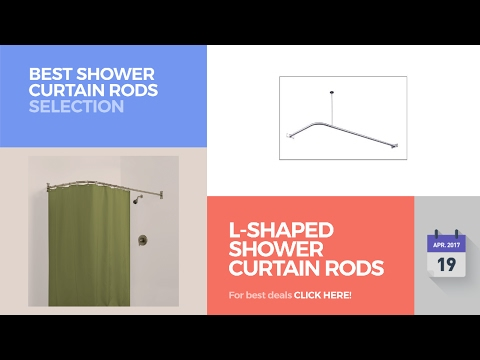 L-Shaped Shower Curtain Rods Best Shower Curtain Rods Selection