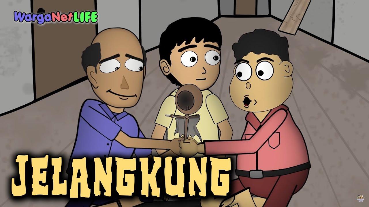 Main Jelangkung Animasi Horor Kartun Lucu