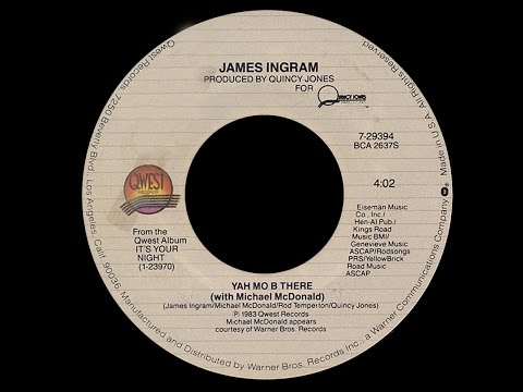 James Ingram with Michael McDonald ~ Yah Mo B There 1983 Funky Purrfection Version