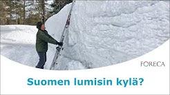 Onko tässä Suomen lumisin kylä?