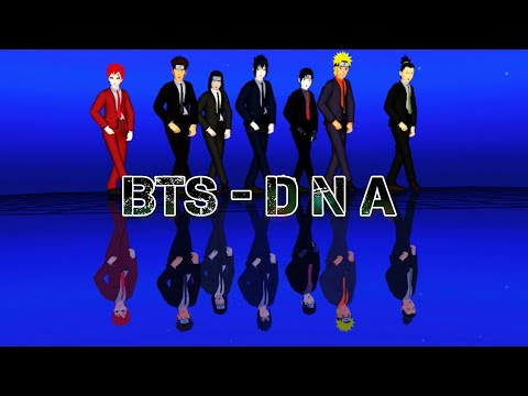 【MMD Naruto】DNA【 BTS - 방탄소년단 】 + Cam DL :D
