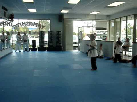 brenden brown belt testing 9yo