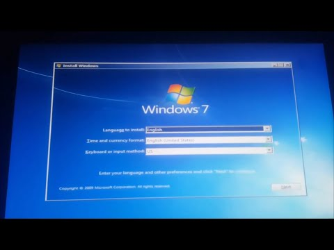 Windows 7  Install No Keyboard No Mouse Fix  For Biso  Usb  ! 2020