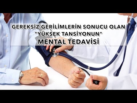 Yüksek Tansiyonun Mental Tedavisi (The Menthal  Treatment  Of The High Blood Pressure)