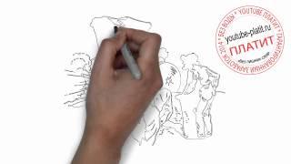 Как нарисовать крутую машину старую(Как нарисовать крутую машину поэтапно простым карандашом за короткий промежуток времени. Видео рассказыва..., 2014-06-25T07:39:32.000Z)