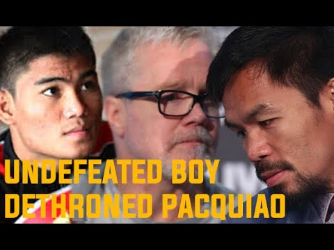 Mark MAGSAYO READY TO REPLACE Manny PACQUIAO ?