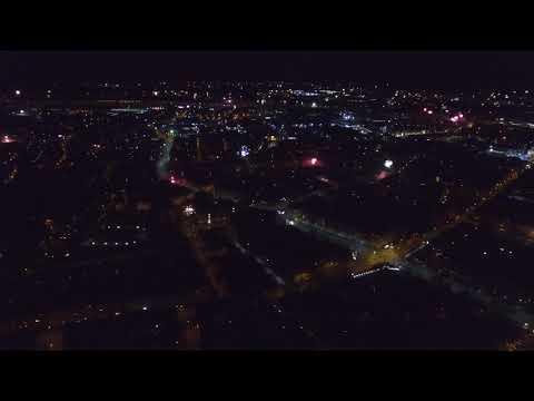 Silvester über Nürnberg