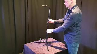 Didgeridoostand - suitable for all didgeridoosizes - metal didgeridoostand video