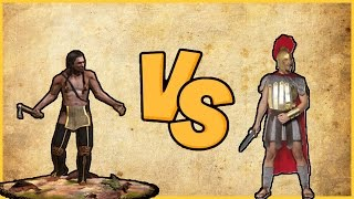 AFRİKALI VS ROMALI  (Total War : Attila) ✅
