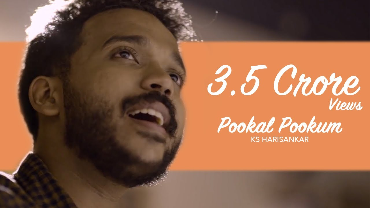 Pookal Pookum  Madrasapattinam Cover Version 4k Ks Harisankar
