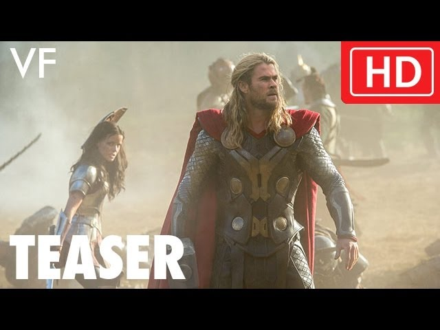 Thor : Le Monde des Ténèbres - Bande-annonce teaser VF -- Marvel   HD