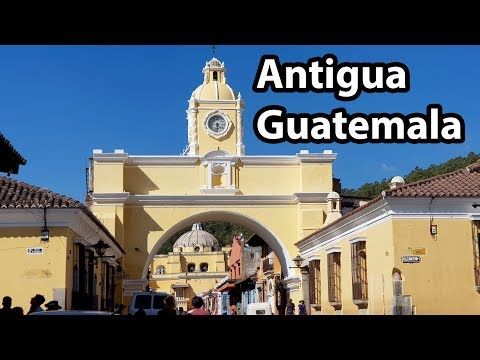 (2/2) ANTIGUA GUATEMALA WALK 2018