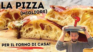 BASTA PIZZA NAPOLETANA 😱 - LA MIGLIOR PIZZA PER IL FORNO DI CASA