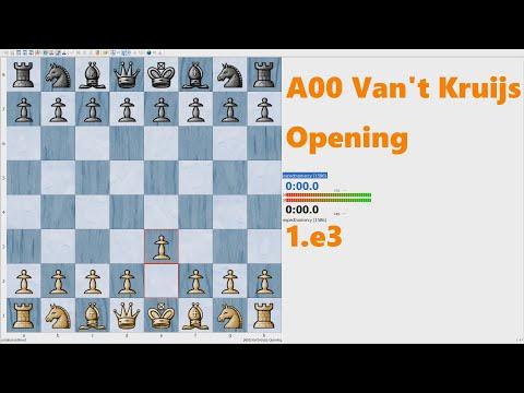 A00 Van't Kruijs Opening Game 1