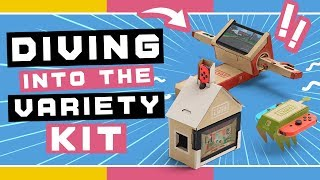 Diving into the Nintendo Labo Variety Kit