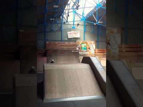 360 transfert du l'a box skatepark cambrai