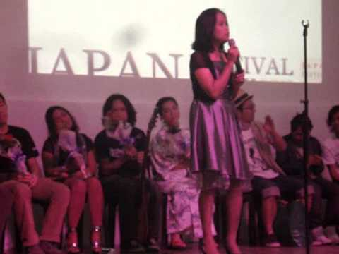 Japan Fest 2012 Cebu: Karaoke Song Competition 2
