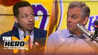 Chris Broussard says he'd trade Lonzo for Beal 'in a heartbeat,' talks Lakers mess | NBA | THE HERD