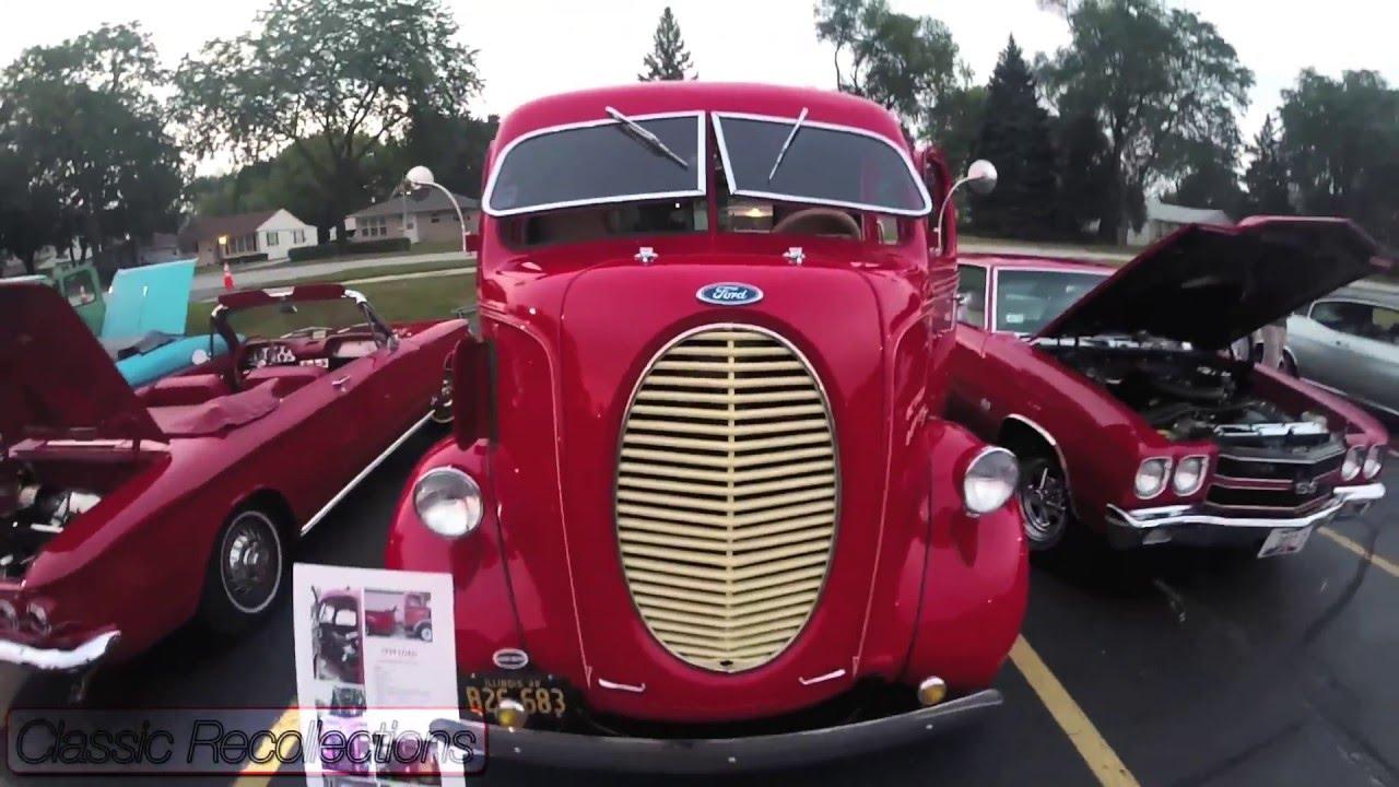 Chromed Closeup: 1939 Ford Cab Over Engine Custom Truck - YouTube