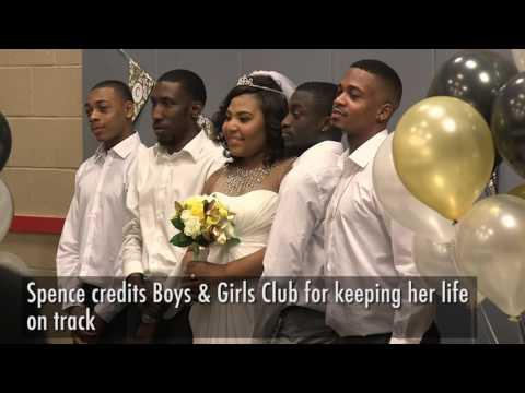 Longtime Boys & Girls Club member celebrates wedding at Cleveland location