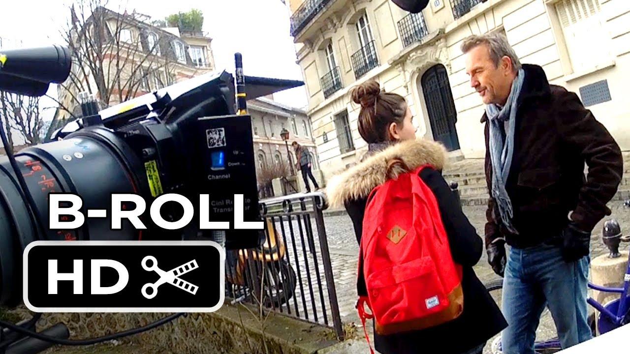 3 Days To Kill B-ROLL (2014) - Kevin Costner, Amber Heard Movie HD