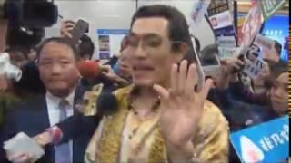 (中央社記者張新偉台北11日電)以洗腦神曲「PPAP」席捲全球的53歲日本...