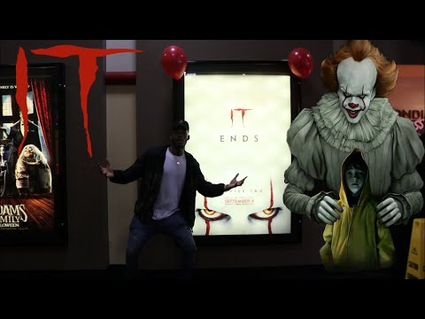 WATCHING IT CHAPTER 2 MOVIE PENNYWISE MADE ME FLOAT OMG!