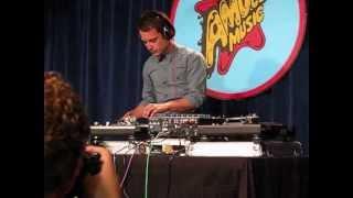 Elijah Wood DJ-ing 2013