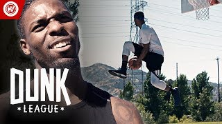 Dunk League West AUDITIONS! | $50,000 Dunk Contest! Video