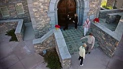 Aerial Video Overview of the Irish Cultural Center in Phoenix, AZ