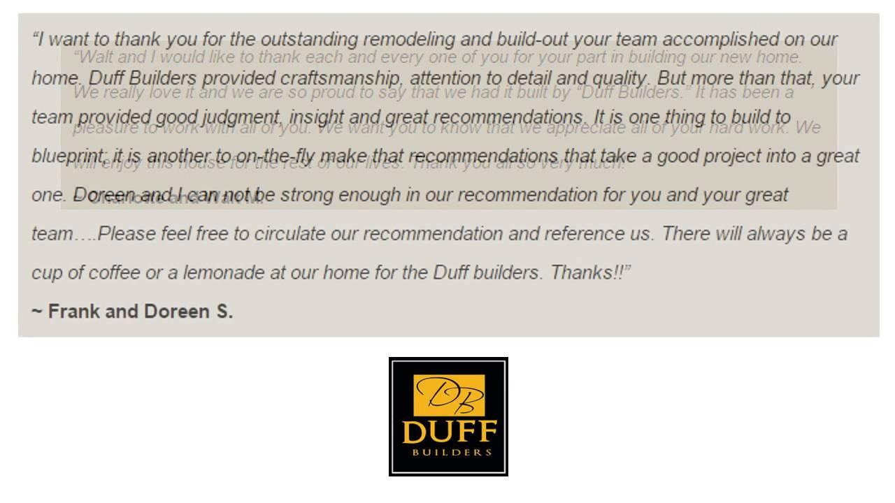 Duff builders reviews lancaster pa remodeling reviews youtube duff builders reviews lancaster pa remodeling reviews malvernweather Gallery