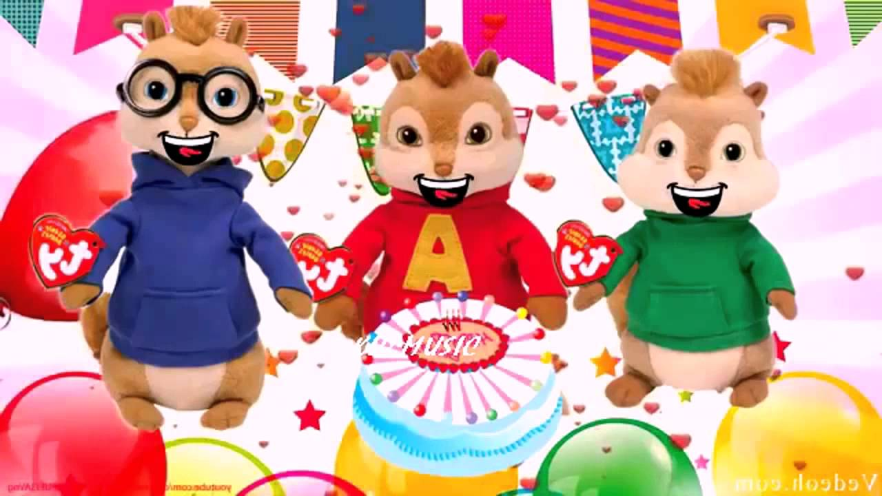 Alvin and The Chipmunks Song Happy Birthday | Kids songs ...