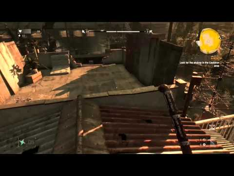 Dying Light - Disappearing Zombie Glitch (Xbox One Gameplay)