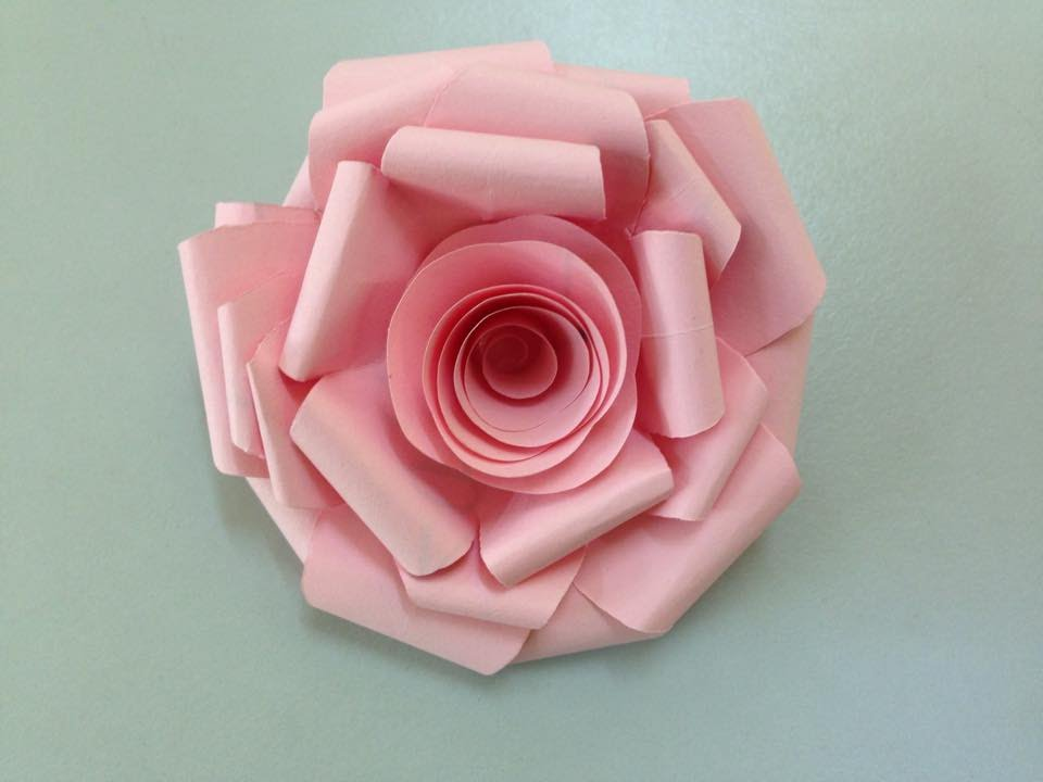 Rose paper flower making kubreforic rose paper flower making mightylinksfo