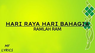 Ramlah Ram - Hari Raya Hari Bahagia (Lirik)