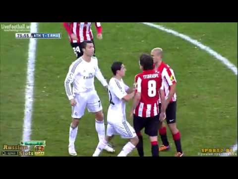 Cristiano Ronaldo red card  Athletic Bilbao Real Madrid 2014 02 02 présenter par YouSseF iFrA