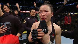 UFC 248: Zhang Weili & Joanna Jedrzejczyk Octagon Interviews